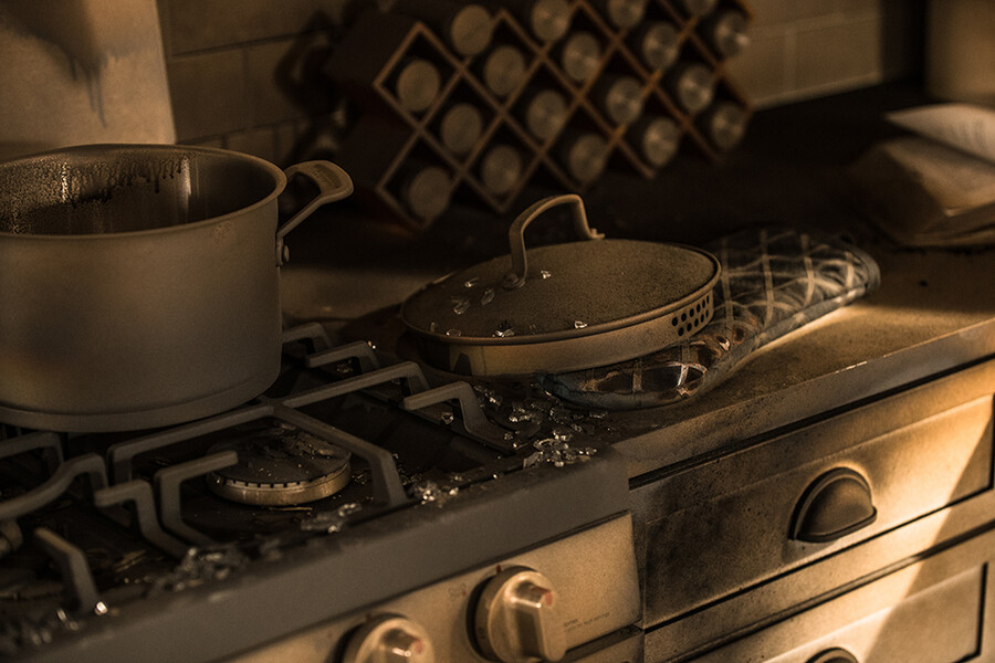 What to Do After a Kitchen Fire